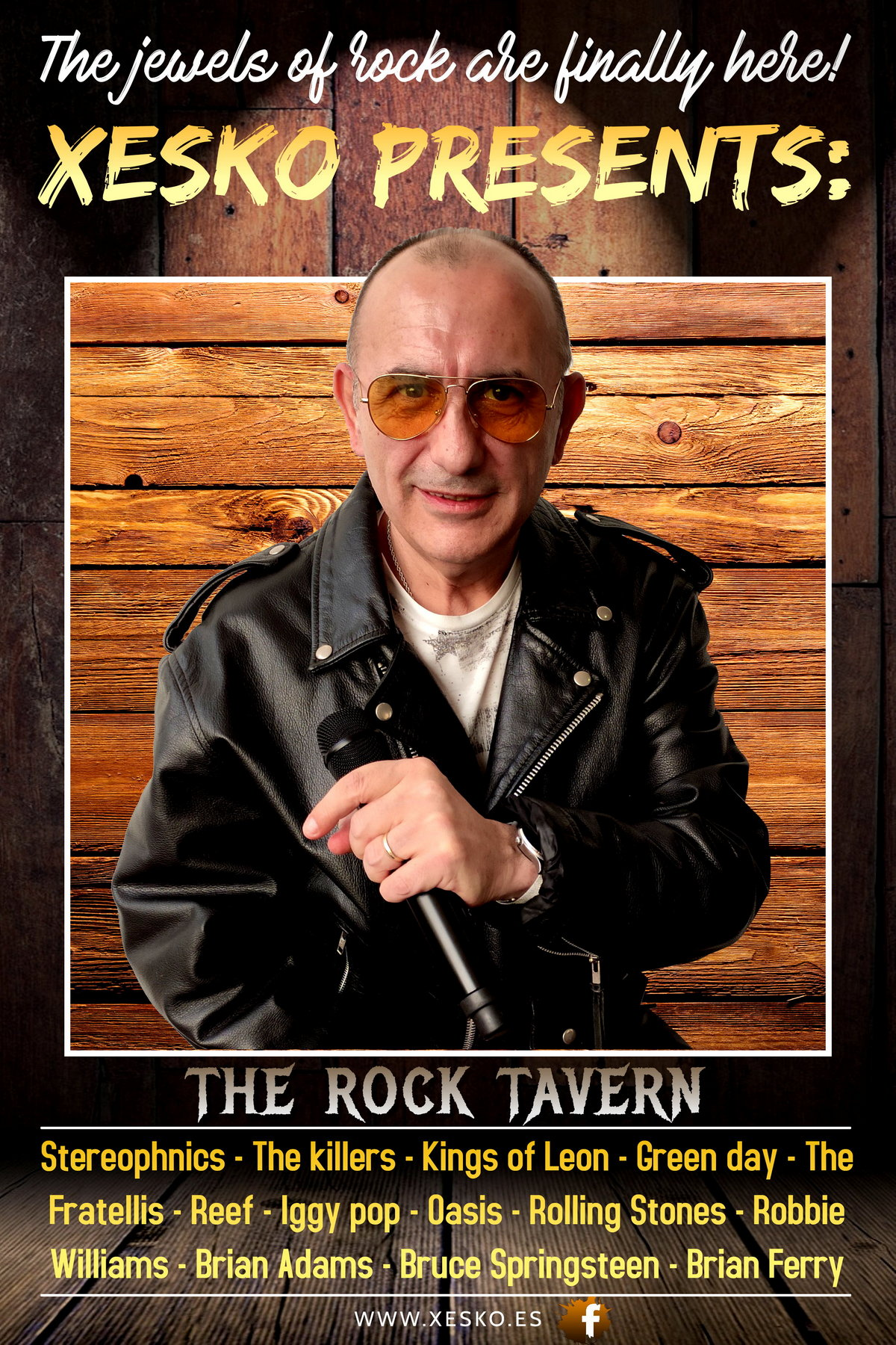 Poster oficial Rock Tavern